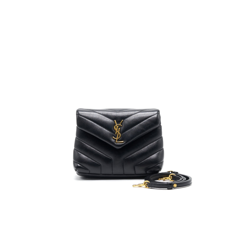 Saint Laurent/ YSL Mini Envelope Bag Black GHE