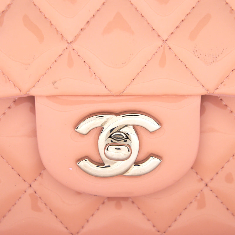 Chanel Pink Quilted Leather Medium Vintage Classic Double Flap Bag - EMIER