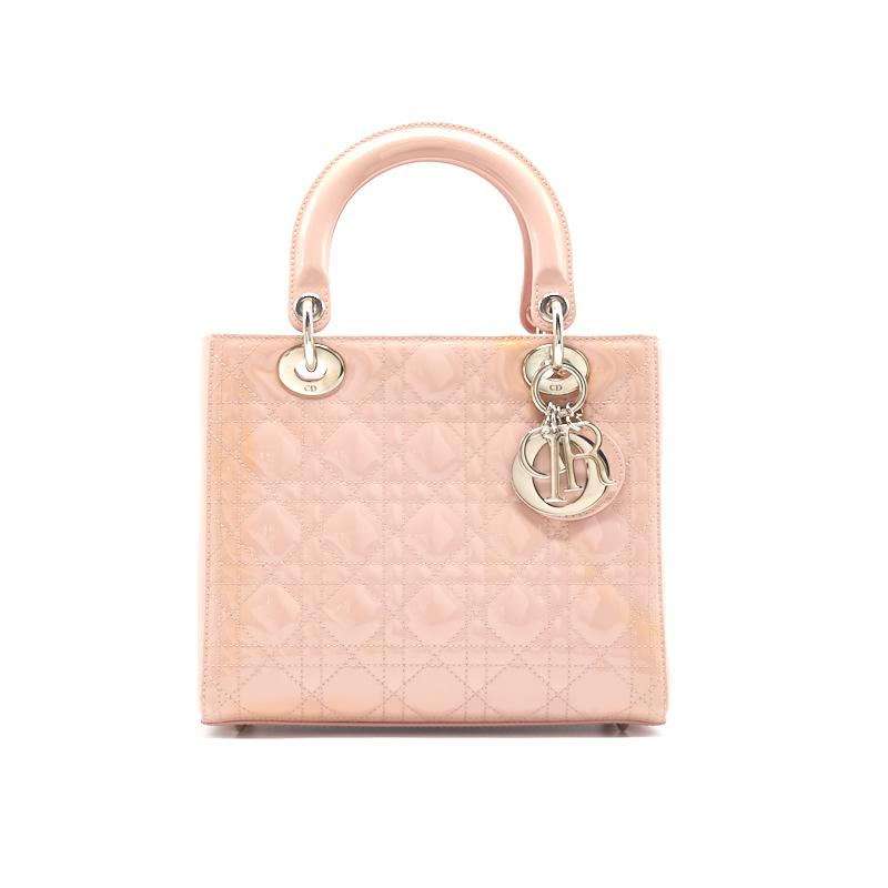 Dior Medium Lady Dior Tote in Patent Leather - EMIER