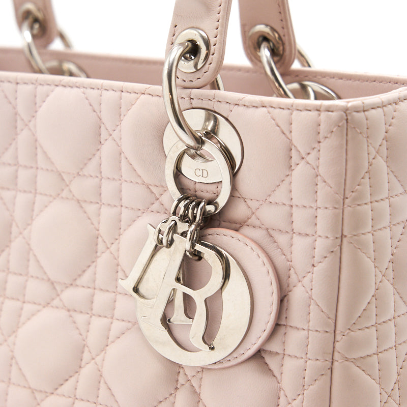 Dior Lady Dior Medium Bag Pink