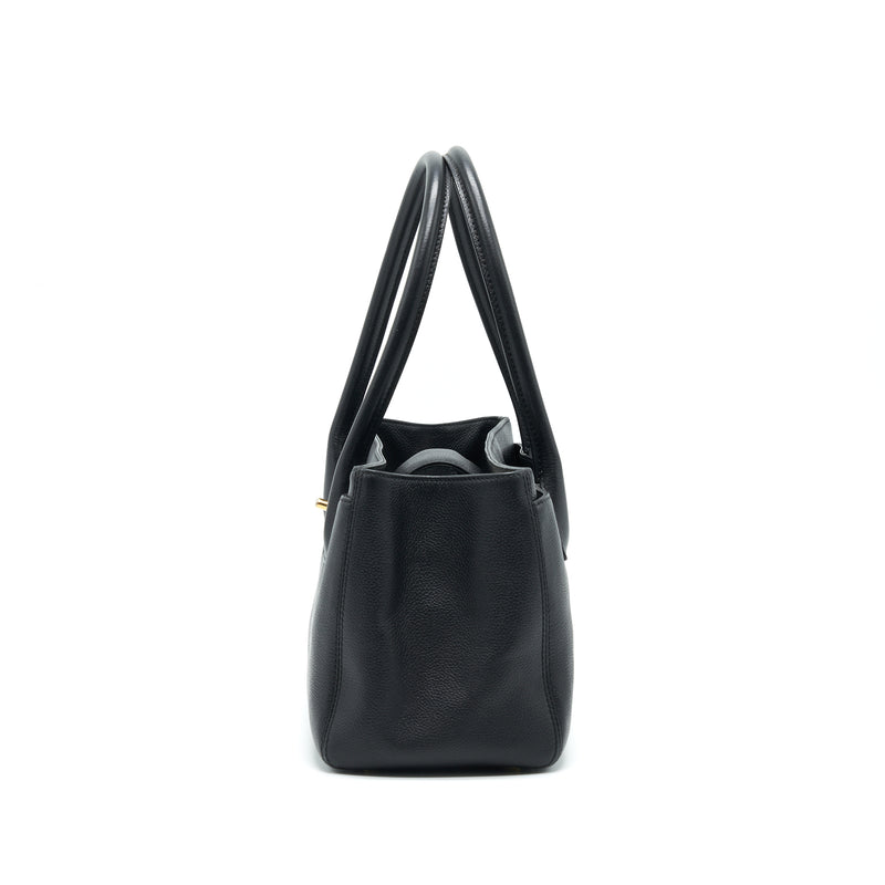 Chanel Executive Cerf Small Tote Bag Caviar black with GHW