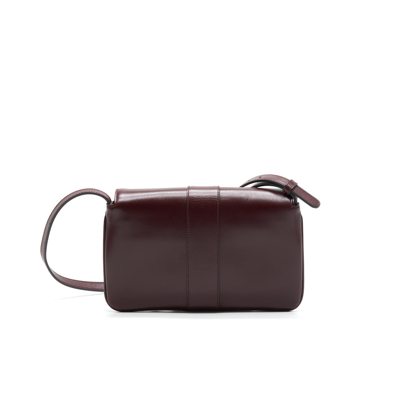 Gucci Arli Small Shoulder Bag Burgundy with GHW