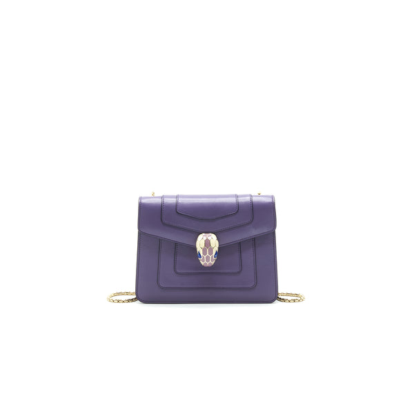 BVLGARI SERPENTI FOREVER CROSSBODY BAG Purple