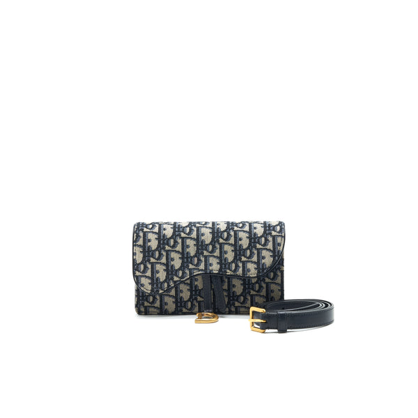 Dior Oblique Saddle Belt Pouch