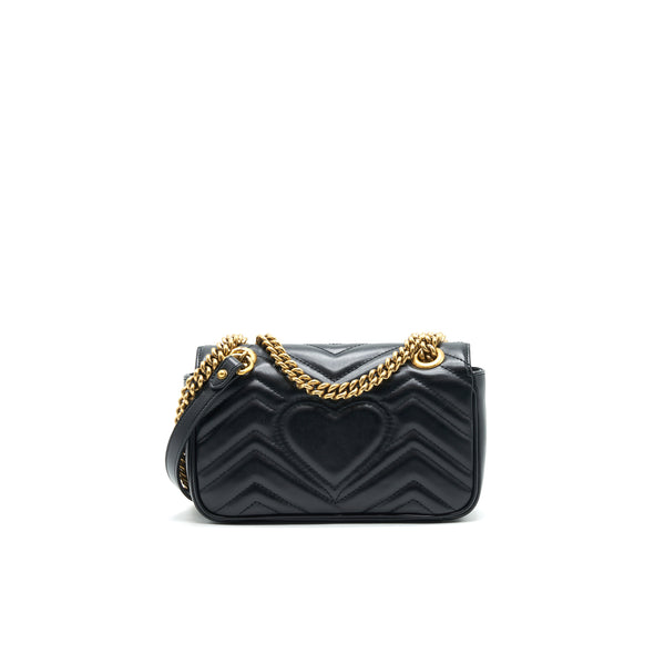 GUCCI GG MINI MARMONT BLACK