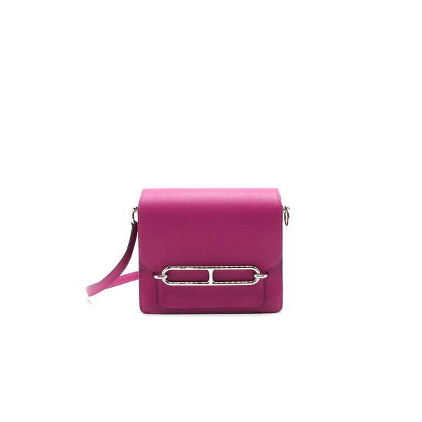 Hermes mini Roulis Rose Purple SHW