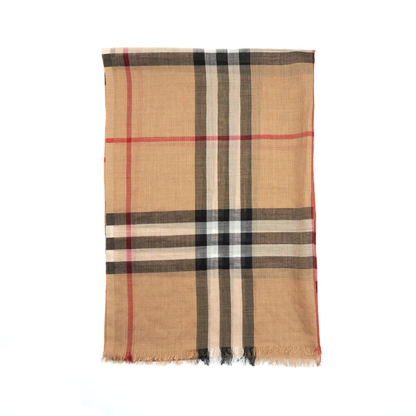 BURBERRY LADIES SCARVES BROWN
