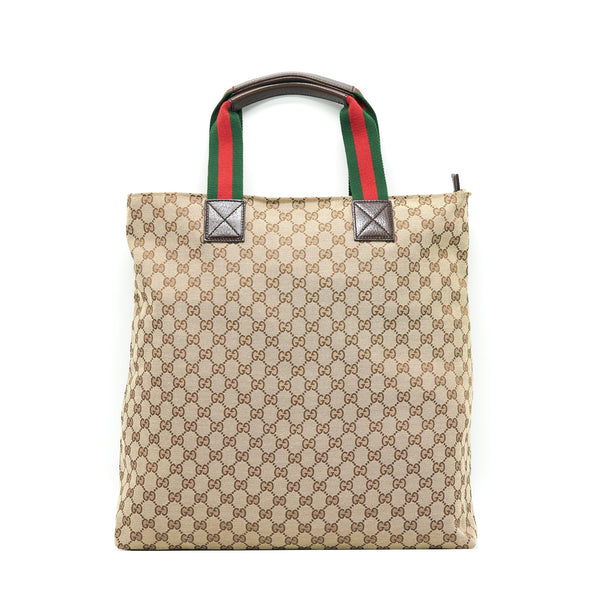 Gucci GG Canvas Shopping Bag