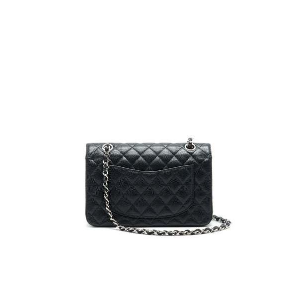 CHANEL CLASSIC SMALL DOUBLE FLAP CAVIAR