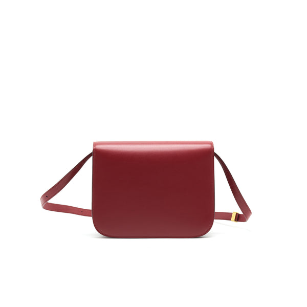 CELINE MEDIUM CLASSIC BOX BAG CALFSKIN RED