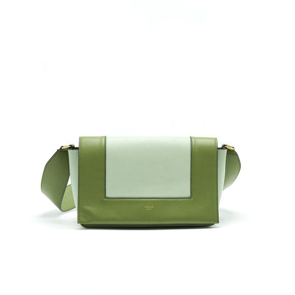 Celine Frame Bag Shoulder Bag Green