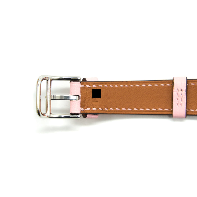 HERMES Cape Cod Watch 23mm Pink