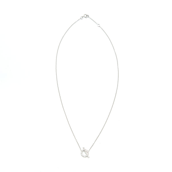 Hermes Finesse Pendant White Gold with Diamond