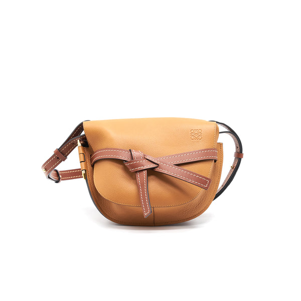 Loewe Small Gate Crossbody Bag Tan Color