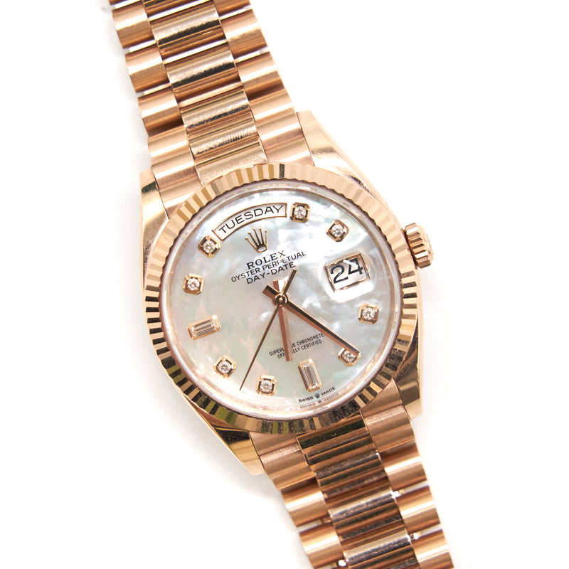 Rolex Day Date 36 Oyster 36mm Rosegold