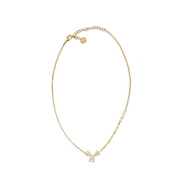 Dior Giraffe Gold Finish Necklace