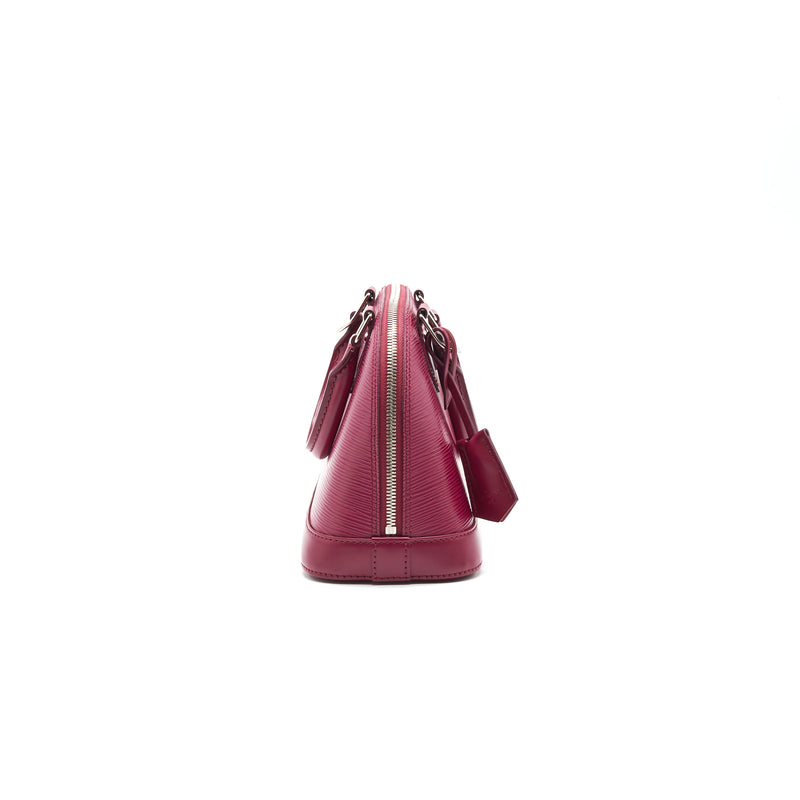 Louis Vuitton Alma BB EPI Leather Hot Pink SHW
