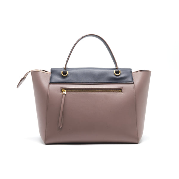 CELINE MINI BELT BAG IN LIGHT PINK & BLACK