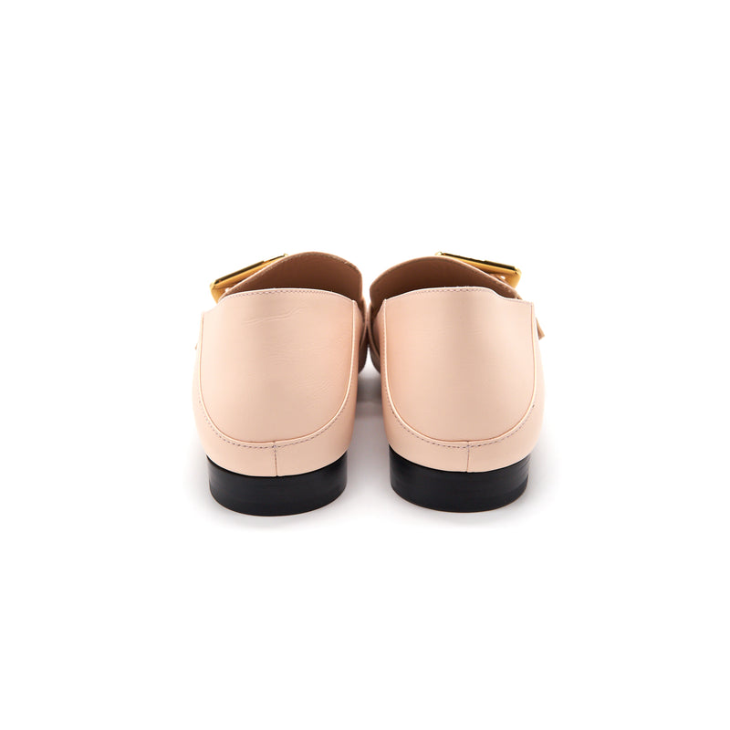 Bally Janelle Woman's Calf Leather Light Pink Size36.5