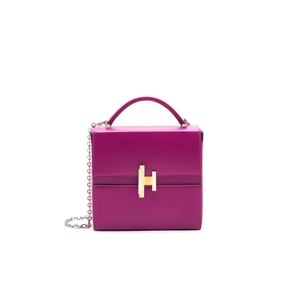 Hermes Cinhetic Bag Rose Purple