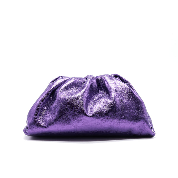 Bottega Veneta Glitter Purple Pouch