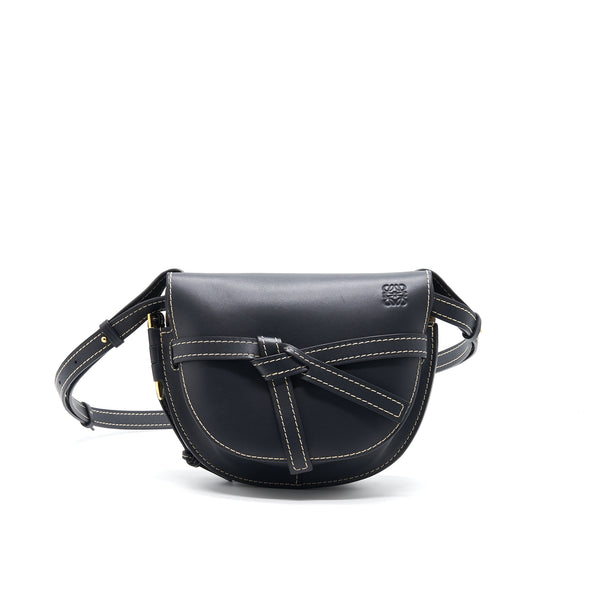LOEWE MEDIUM GATE BAG DARK