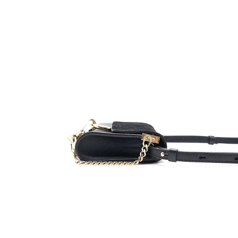 Chloe Faye Mini Cross Body Bag Black