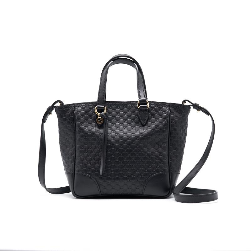 Gucci Black Leather Tote Bag - EMIER