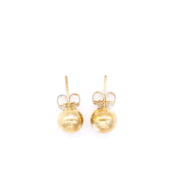 Tiffany Gold Ball Earrings - EMIER