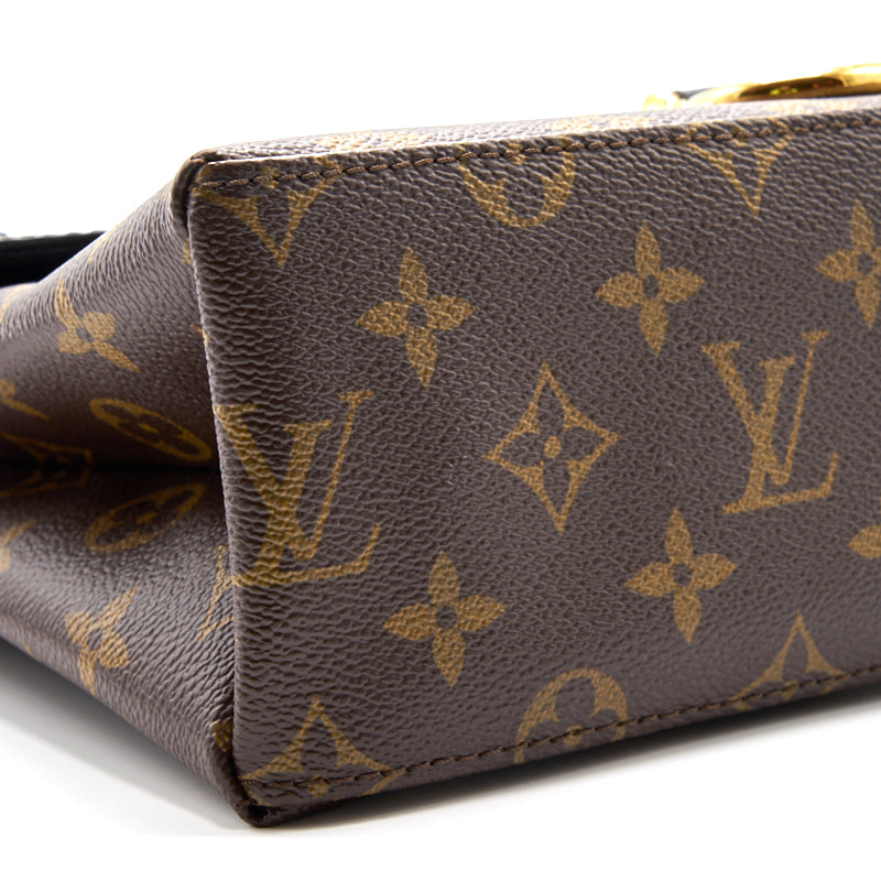 Louis Vuitton Saint Michel Handbag Monogram Canvas and Epi - EMIER