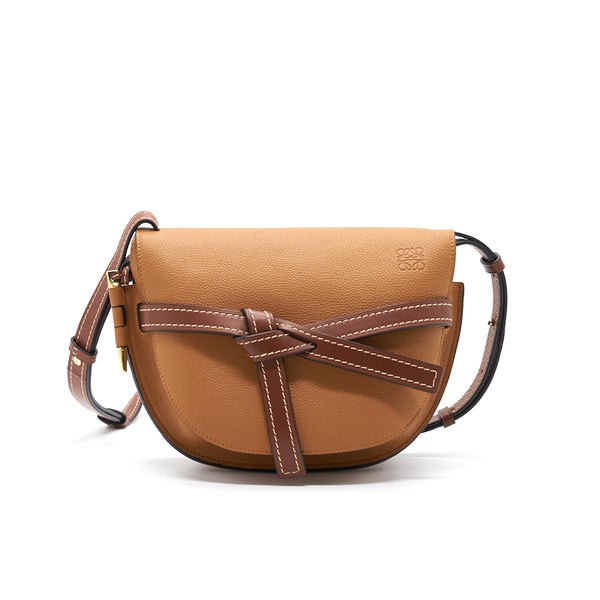 Loewe Small Gate Bag in soft grained calfskin
