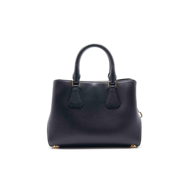 Michael Kors Mercer Small Pebbled Leather Belted Satchel - EMIER