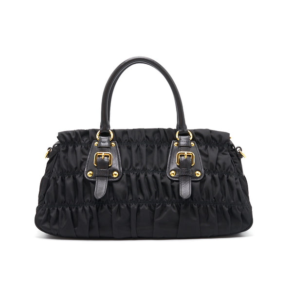Prada Matelasse Bag Black