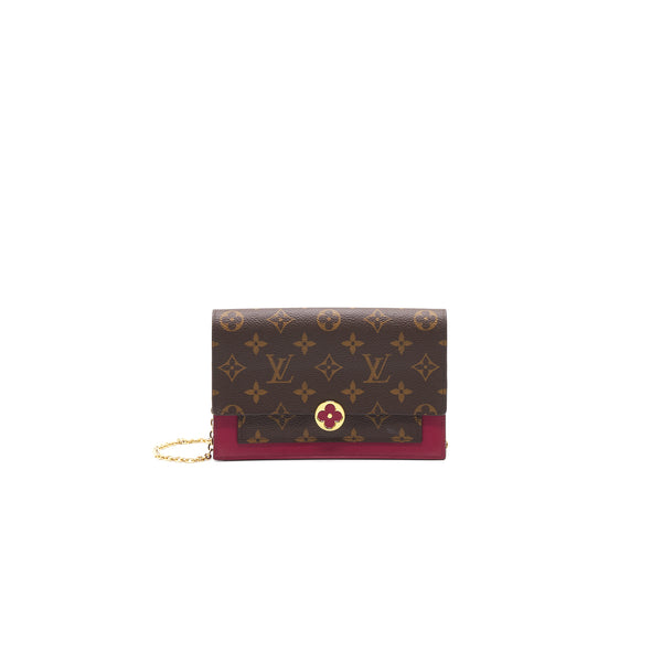 Louis Vuitton Flore Chain Wallet
