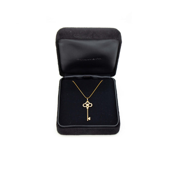 Tiffany Keys Crown Key Pendant - EMIER