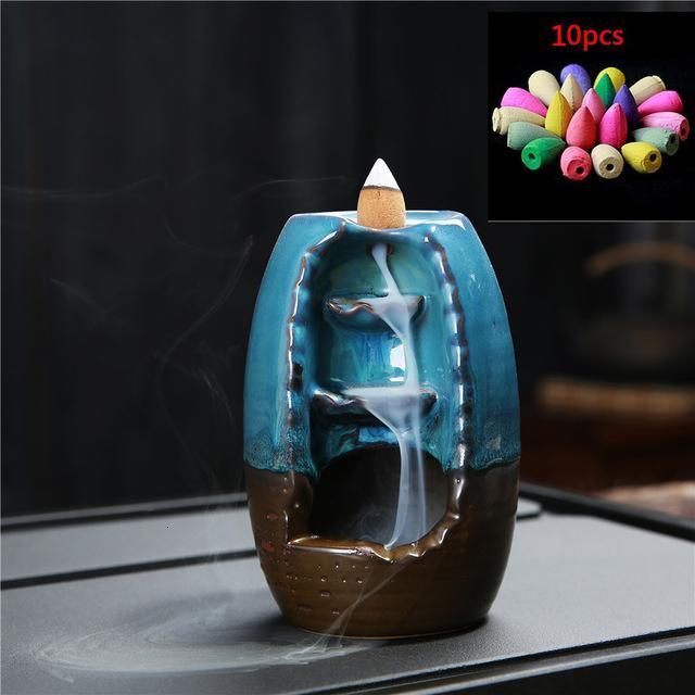 Incense Holder Censer With Crystal Ball