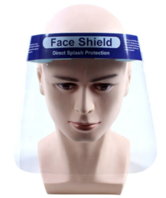 Clear Vision Full Face Protection Shield
