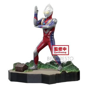 Ultraman Tiga Special Effects Stagement #49 The Ultra Star - Ultraman Tiga Multi Type 6 cm