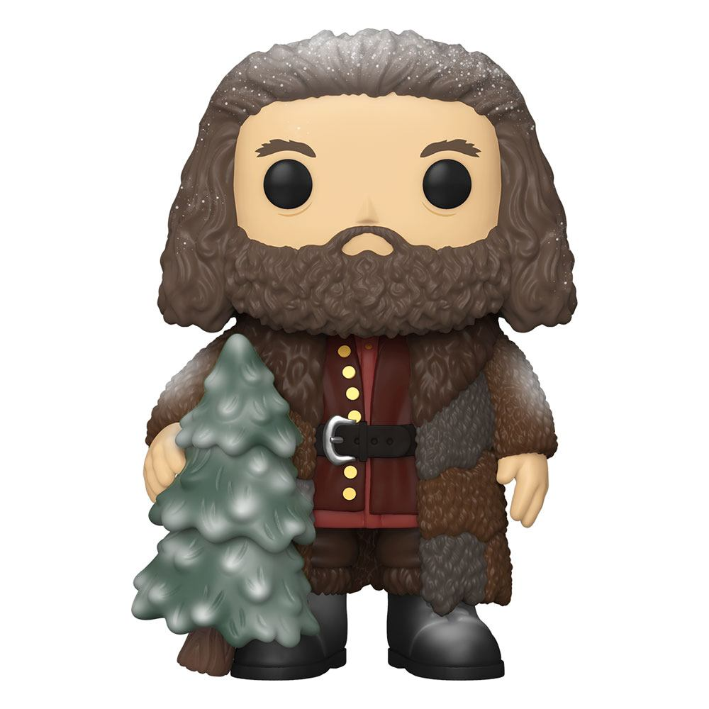 Super Sized FUNKO POP! Harry Potter - Rubeus Hagrid - Holiday Vinyl Figure 15 cm
