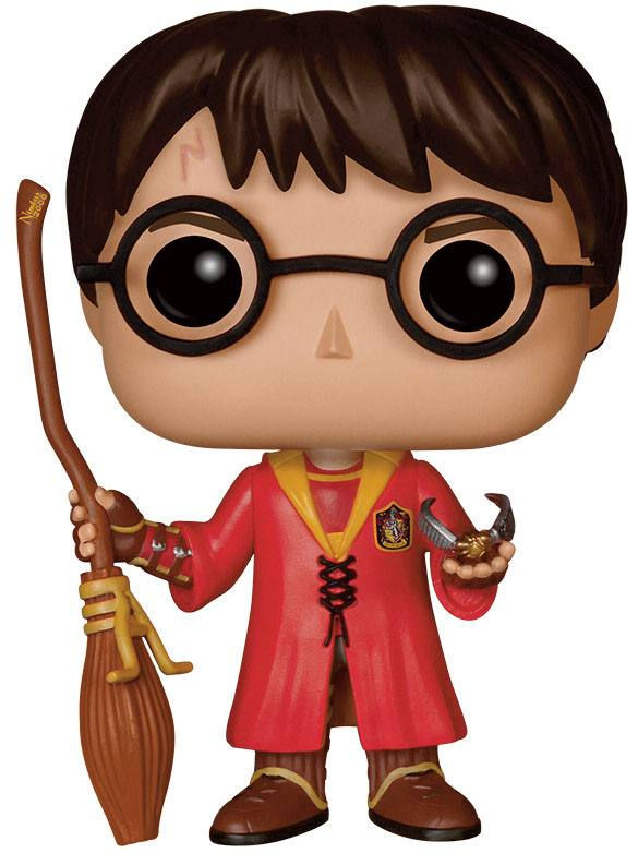 FUNKO POP! Harry Potter - Harry Potter Quidditch - Movies Vinyl Figure 9 cm