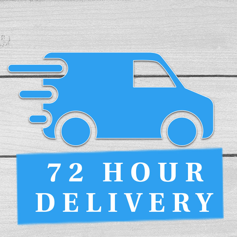 72 hour from ordering to Delivery