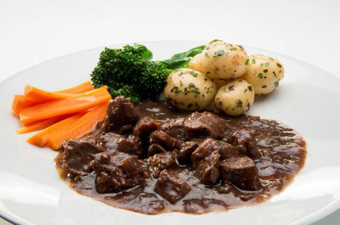 Venison Casserole with Mushrooms