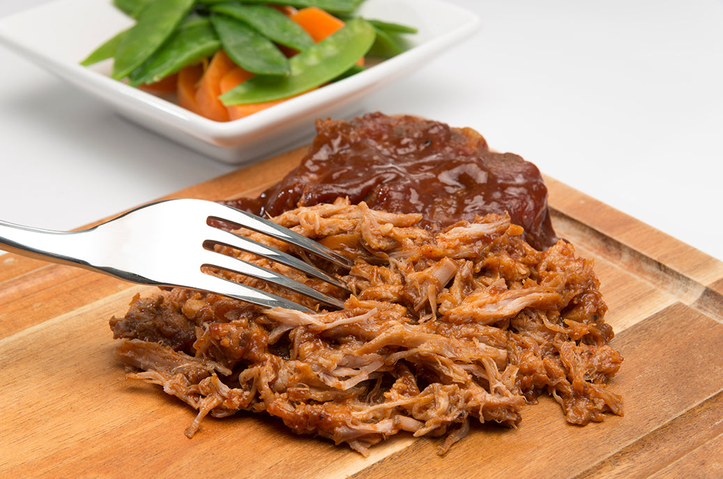 Hot BBQ Pulled Pork