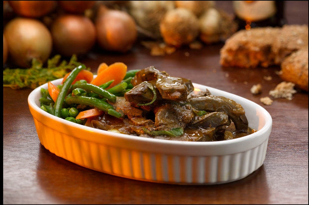 Lambs Liver in Onion Gravy