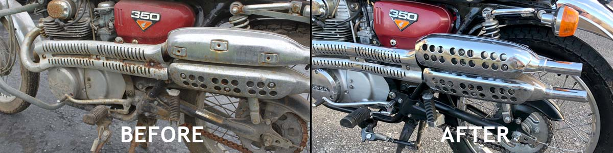 Motorcycle Restoration options.