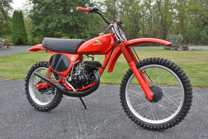 1978 Honda Elsinore Tahitian Red Motorcycle Paint match