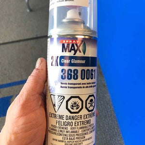 Spray Max 2K Clear Coat Aerosol