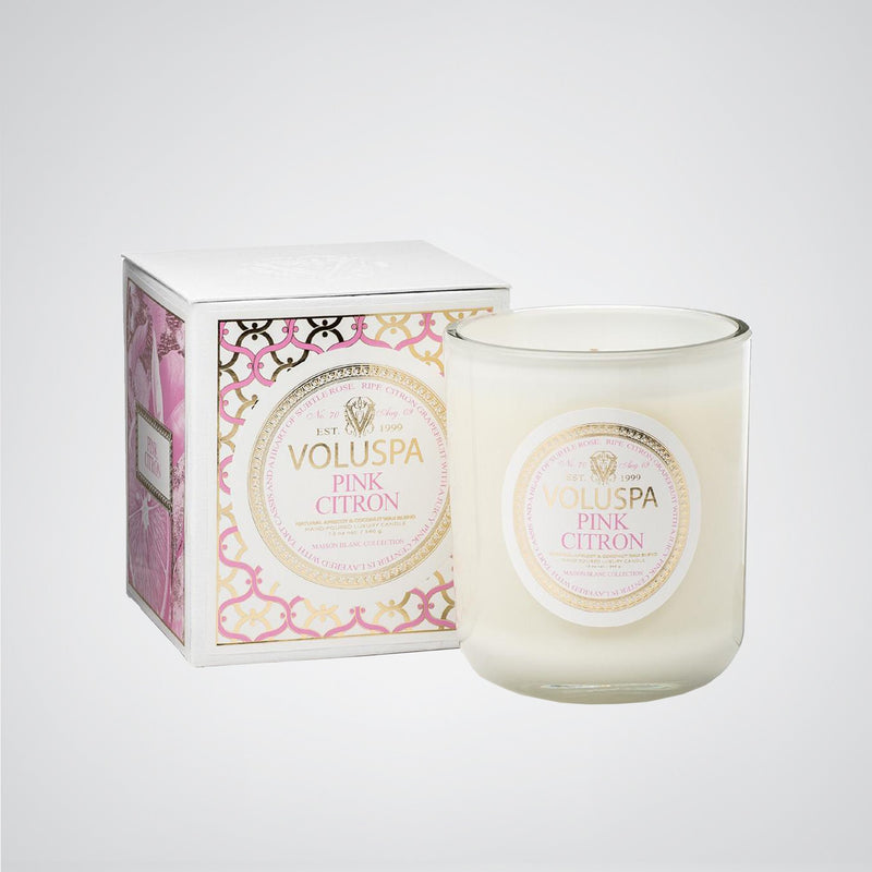 Classic Maison Candle in Pink Citron