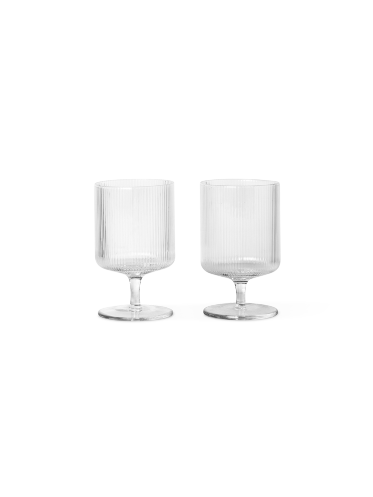 Ripple Wine Glasses (Set of 2)
