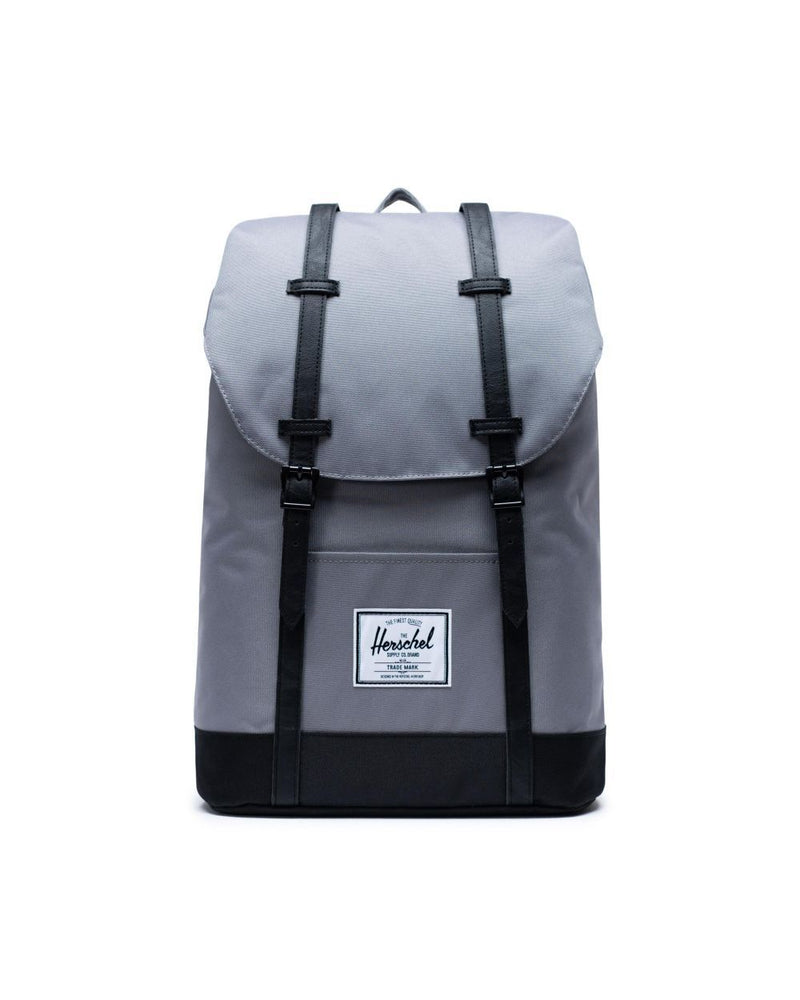 Retreat Backpack in Grey & Black